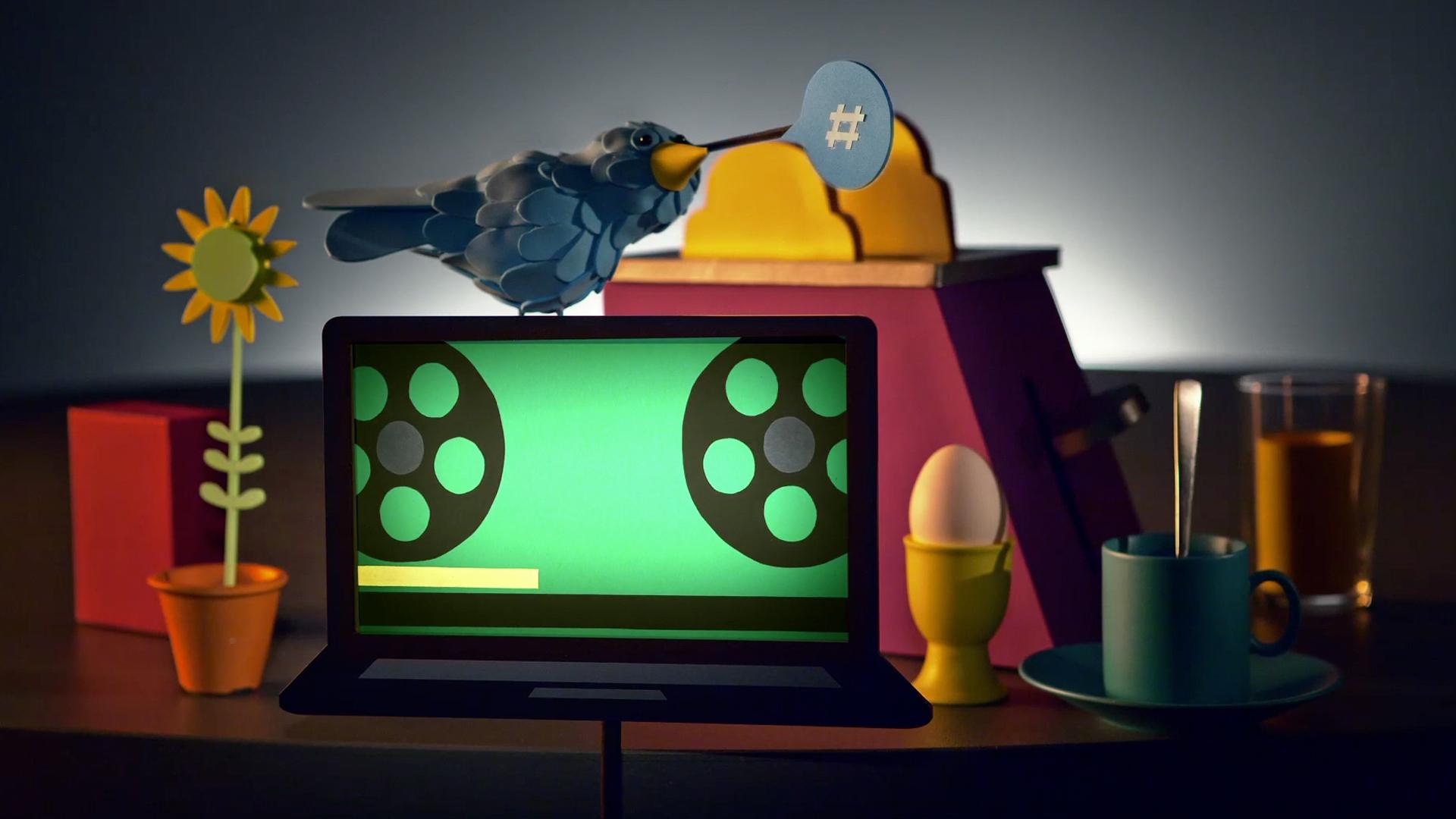 Kanal 5 play - animation av Jöns Mellgren