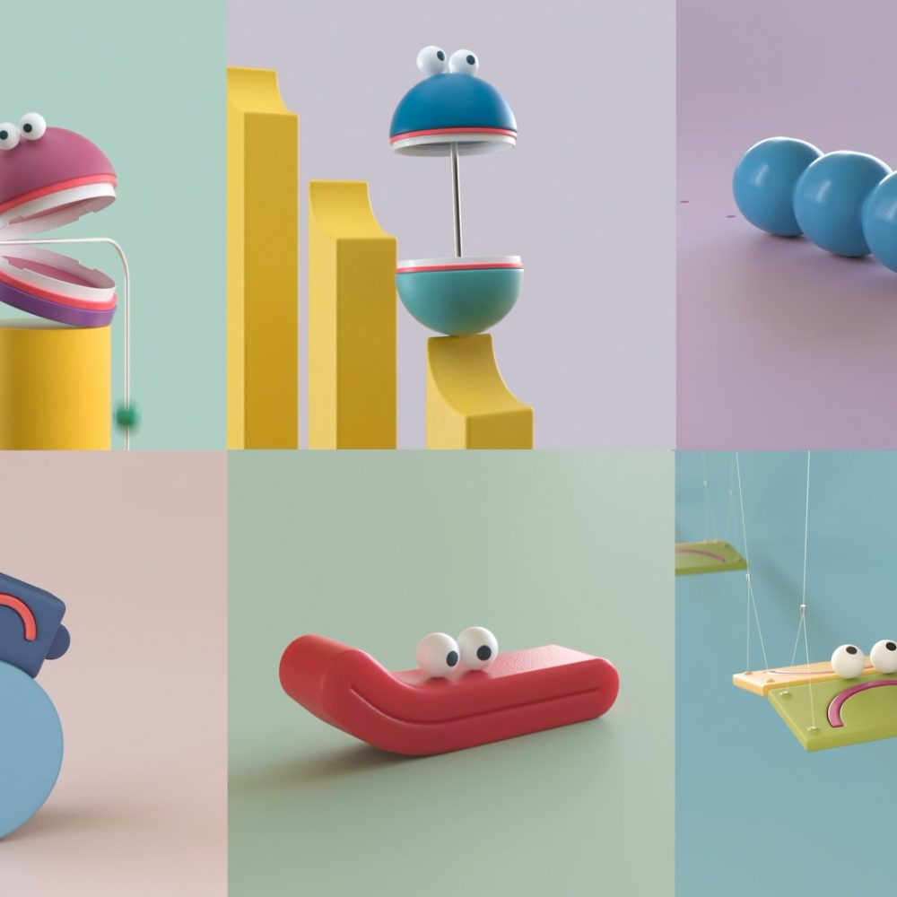 Animated loops by Lucas Zanotto